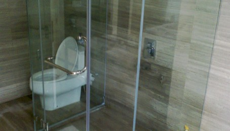 Shower screen design options glass malaysia glass for Bathroom designs malaysia