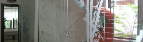 Glass Sliding Door
