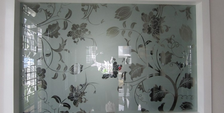 Gallery for gt glass etching designs for partition