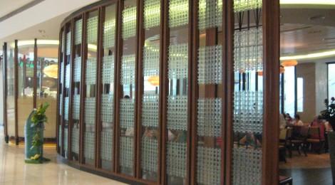 Kilnformed checks glass