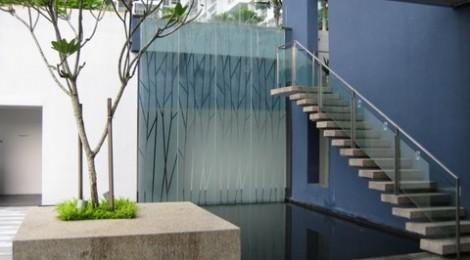 Condominium Landscape Glass