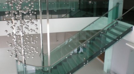 Curved Glass Railings