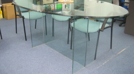 Glass table top 001