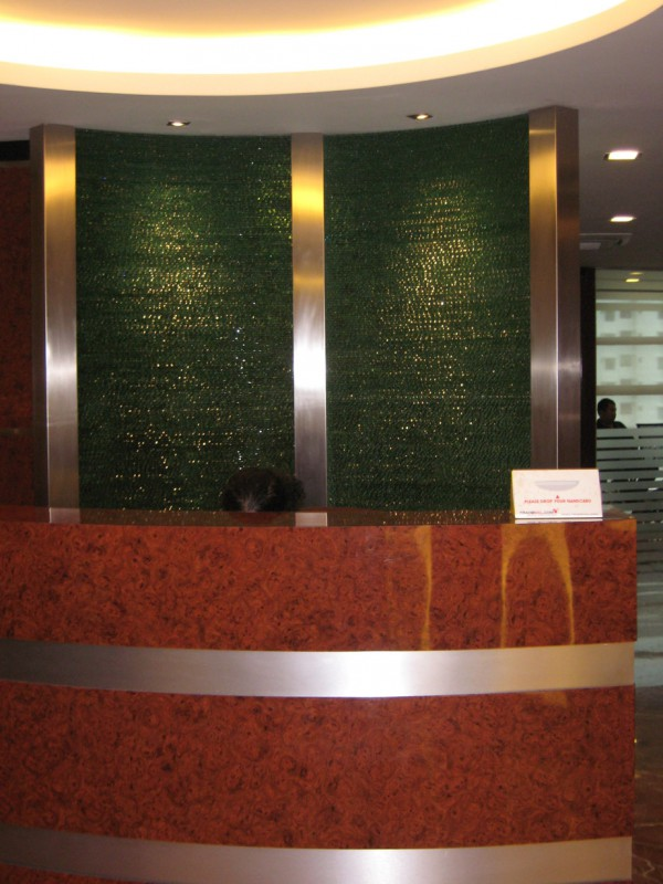 Reception Glass Feature Wall Glass Malaysia Glass