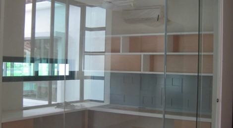 Glass Wall for Interior