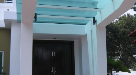 Glass Canopy for Your Home