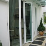 Glass Folding Door leading to Garden