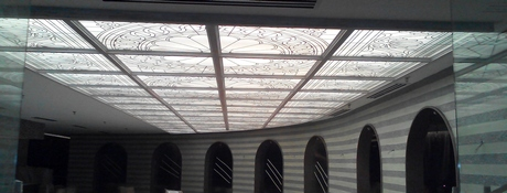 Decorative Glass Ceiling