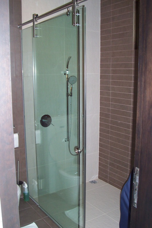 Frameless Sliding Shower Door Glass Malaysia Glass Renovation Idea Resi