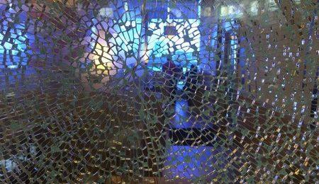 When glass breaks