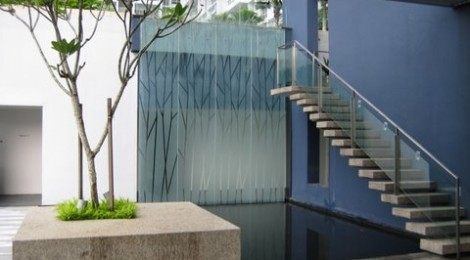 Condominium Landscape Glass