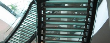 Glass Staircase & Glass Treads