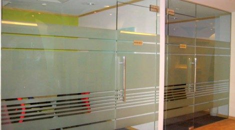 Glass Partition Room