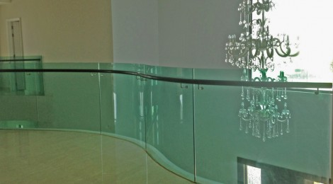 Curved Glass Staircases