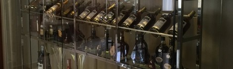 Glass Storage Cabinet